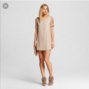 NWT J by JOA sequin shift dress